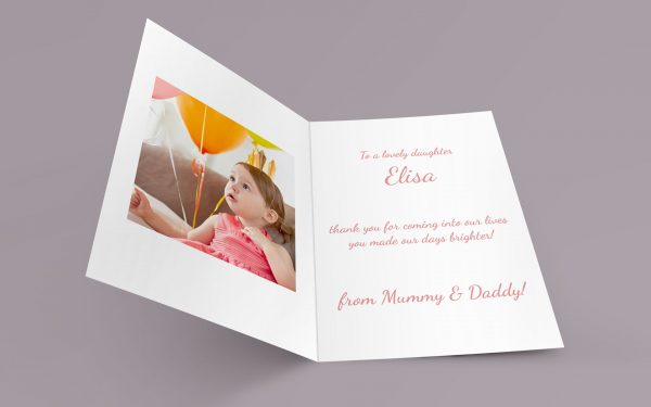 Personalised Greeting Card